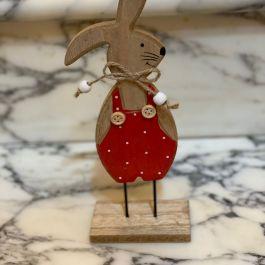 Coniglietto pancia rossa