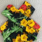Fascia fiori gialli adulti