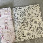 Quaderni da colorare lavabili fantasia ballerine