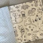 Quaderni da colorare lavabili fantasia mare