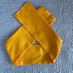 Fascia gialla senape bimba