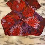 Fascia adulto fiori rossi