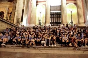 Una notte al teatro, 120 bambini dormono nel Massimo di Palermo