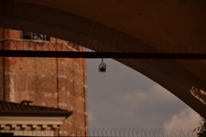 Il Suono in Mostra 2016 - AA. VV. - Electronic Crickets - loggia di San Giovanni, Piazza Libertà - photo: Andrea Bertolozzi