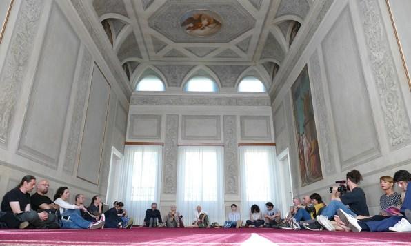 Daniela Cattivelli - uneven - sound installation - Il Suono in Mostra 2019 - Palazzo Politi Camavitto, Udine, Italy - Photo Lara Carrer