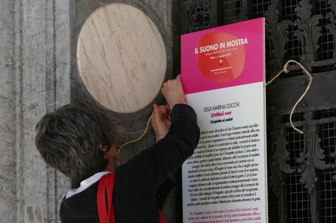 Silvia Colle - making of #ilsuonoinmostra - foto di Lara Carrer