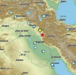 Tremenda scossa sismica tra Iran e Iraq