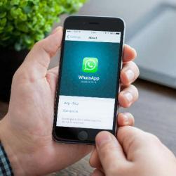 Tecnologia: scambio di denaro con WhatsApp
