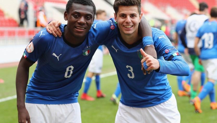 C'è l'Italia che funziona: Under 17 in finale agli Europei