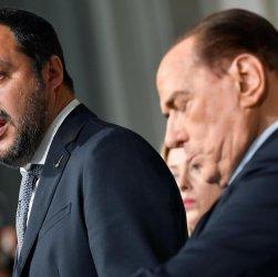 """Salvini: """"Non rompo con Berlusconi ..."""", ma ..."""