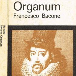 """#4 Un libro per amico: """"Novum Organum"""", di Francis Bacon"""