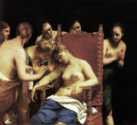 Cleopatra, una venere dell'antichità, raccontata da Shakespeare e dal Cagnacci