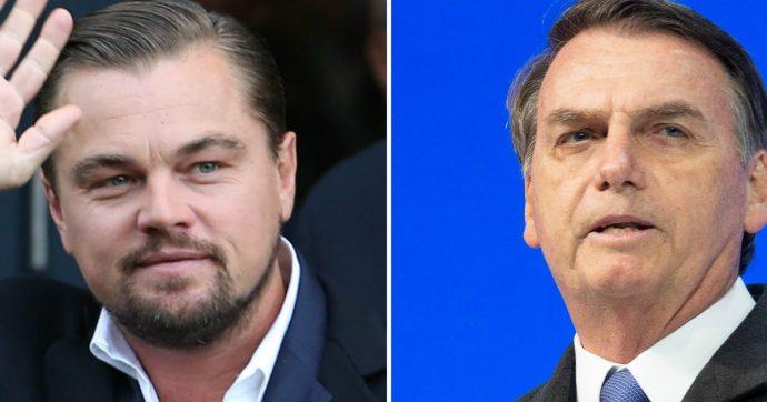 Di Caprio e Bolsonaro