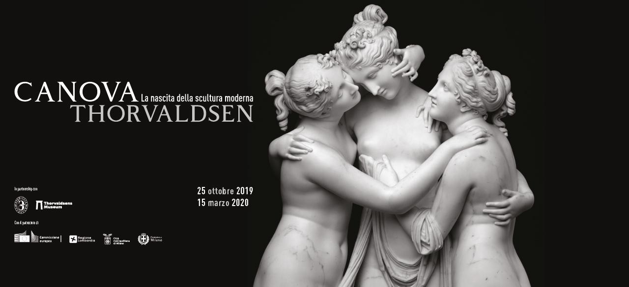 Canova e Thorvaldsen alle Gallerie d'Italia: scultura, bellezza e antichità nella teoria estetica