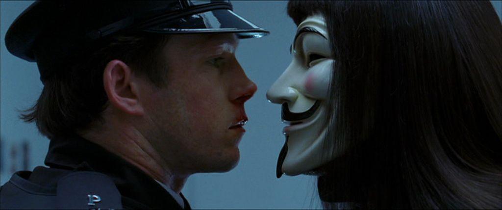 "dal film ""V per Vendetta"""