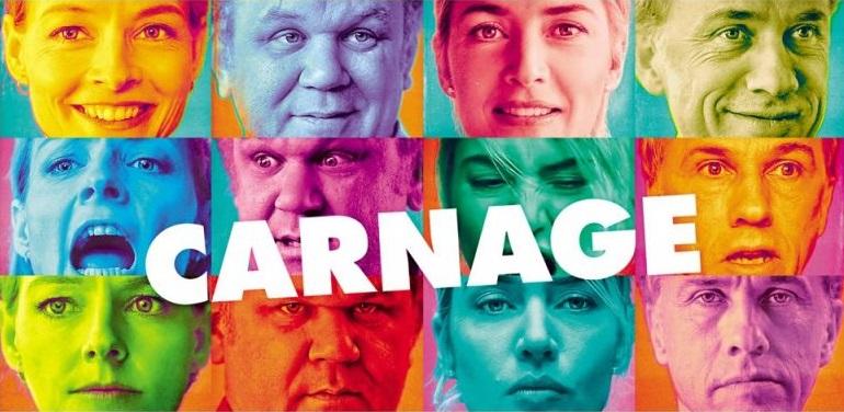 """Polànski esaspera la comunicazione con """"Carnage"""": quanto contano davvero le misure?"""