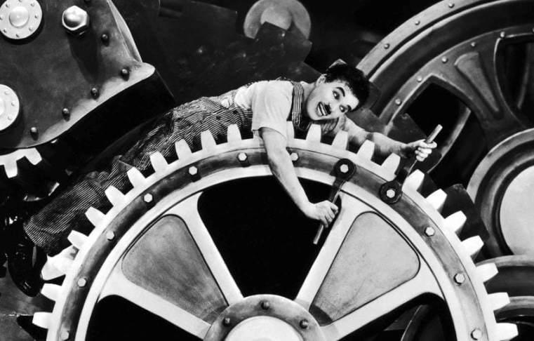 Chaplin e il Taylorismo mostrano la doppia faccia del capitalismo americano