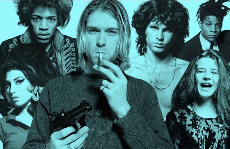 Kurt Cobain, Amy Winehouse e co: il club dei dannati 27, grandi artisti morti a 27 anni