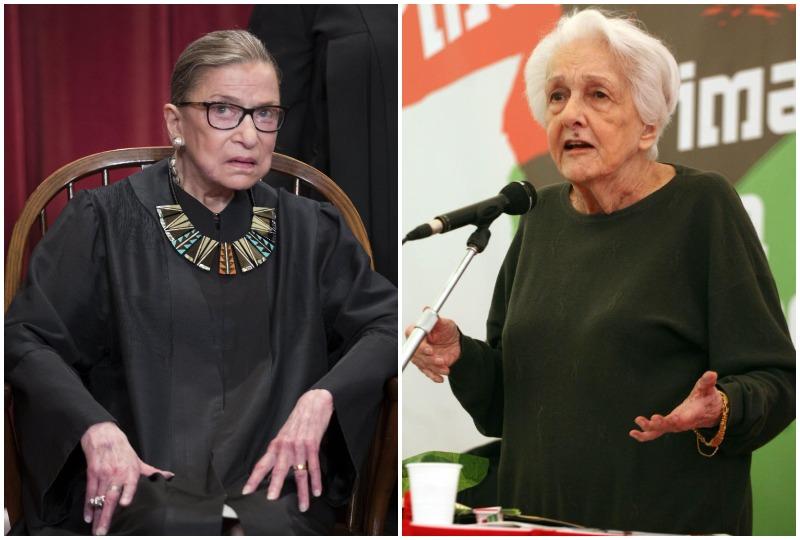 Le vite straordinarie di Ruth Ginsburg e Rossana Rossanda: storie di donne che dobbiamo ringraziare
