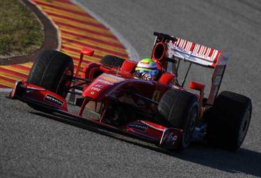 Felipe Massa sulla F60