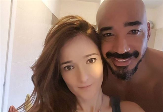 Angela Rende, moglie di Amaurys Perez