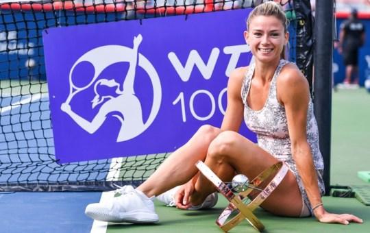Tennis. Camila Giorgi vince il suo primo WTA 1000 a Montreal