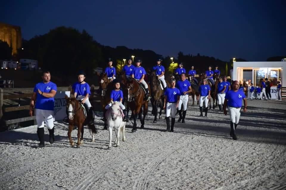 L'iniziativa dell'ASI durante il Longines Global Champions Tour a Roma