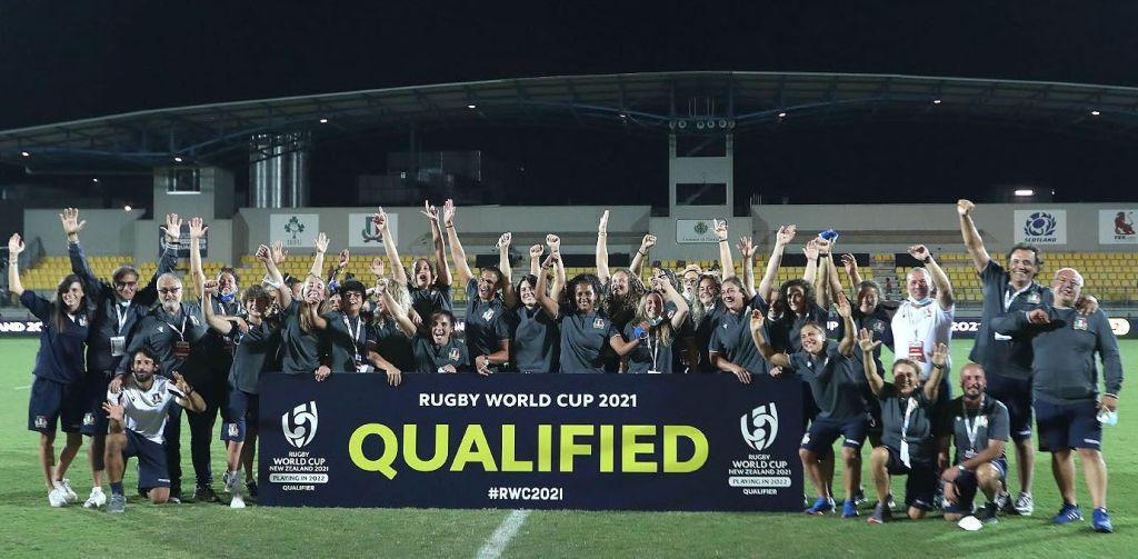 "L'Italdonne si qualifica al Rugby World Cup ""New Zeeland 2021"""