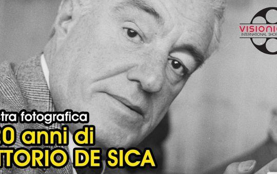 Gli scatti di Carlo Riccardi celebrano in una mostra a Gaeta i 120 anni di Vittorio De Sica