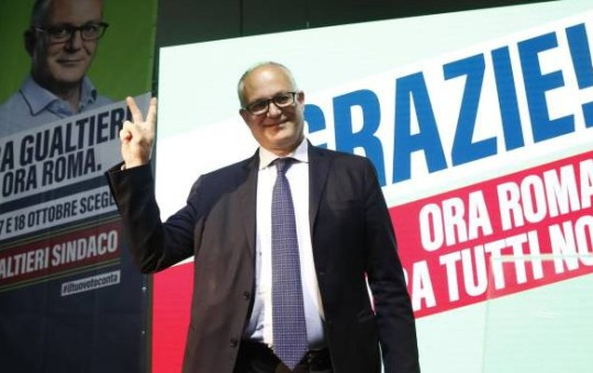 Gualtieri è il nuovo sindaco di Roma