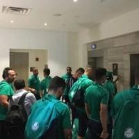Palmeiras,disastro aereo sfiorato