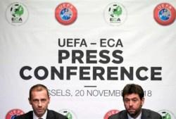 L'Equipe: l'UEFA minaccia sanzioni pesanti,campionati devono riprendere