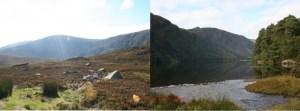 Glendalough e le montagne di Wicklow