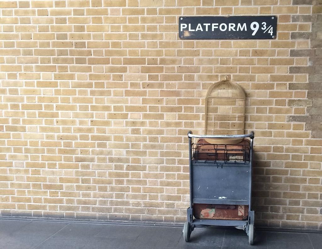 Piattaforma 9 3-4 Harry Potter Londra