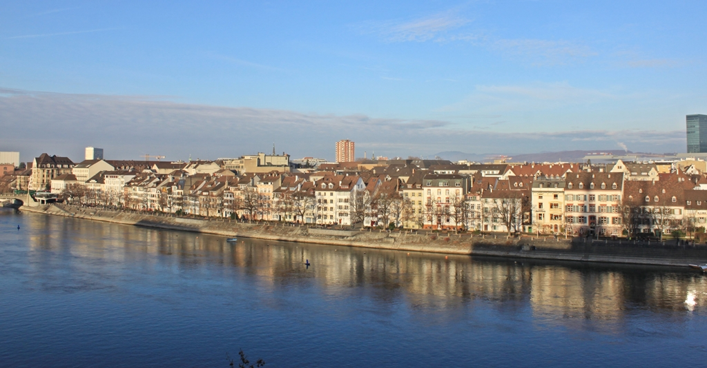 Vista Basilea dal Pfalz