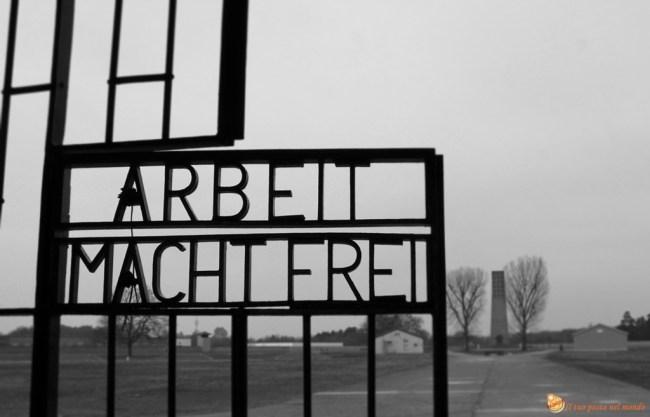 entrata campo di sachsenhausen