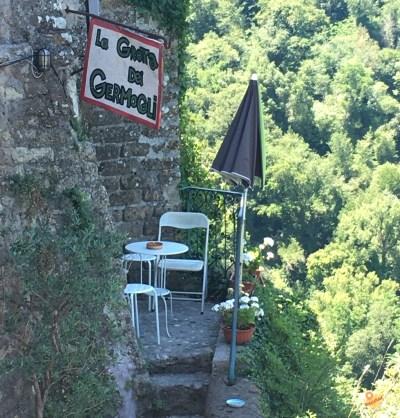 La grotta dei Germogli Calcata