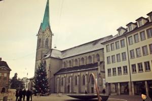 chiesa di Fraumunster Zurigo