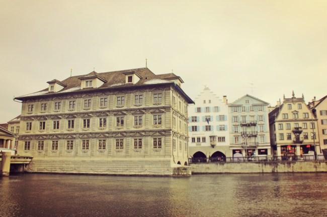 Rathaus Municipio Zurigo