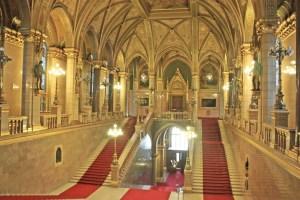 Scala principale Parlamento di Budapest