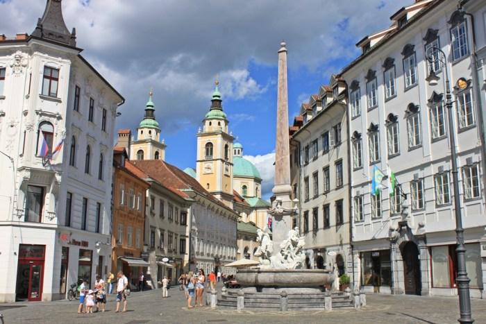 La Piazza Civica Lubiana