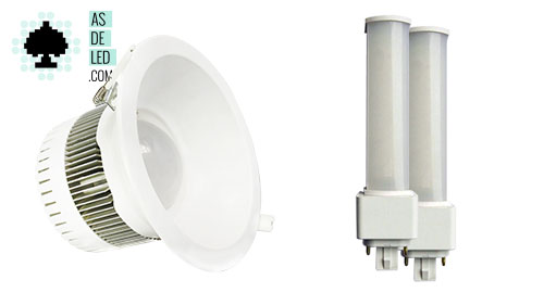 Foco LED y bombilla LED PL