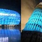 El mundo se iluminó de azul en apoyo a la Diabetes