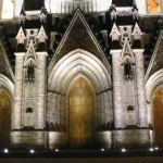 Estrena iluminación el Santuario Guadalupano de Zamora