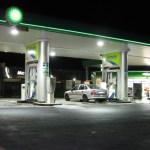 LEDs para iluminación de gasolineras