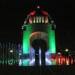 La nueva iluminación para el Monumento a la Revolución