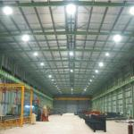 Luminarios high bay para operar lámparas tubulares circulares con arillos inductores externos