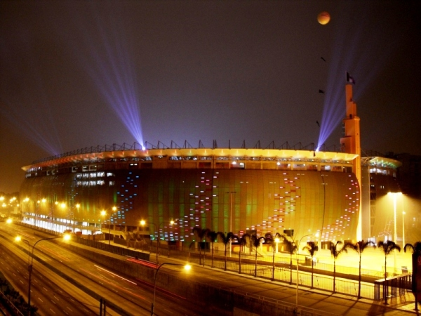 estadio Lima Iluminacion