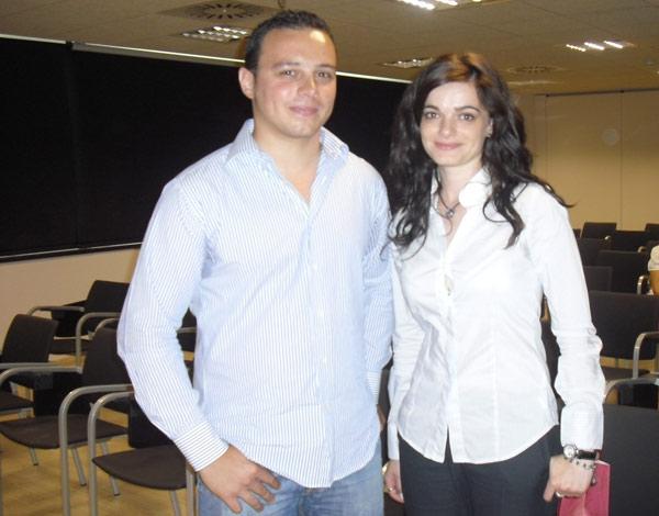 Rubén Melendre y Noelia López