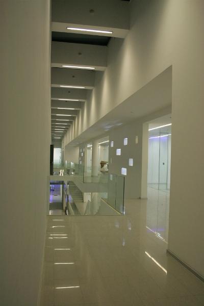 iluminación del Data Center ENTEL